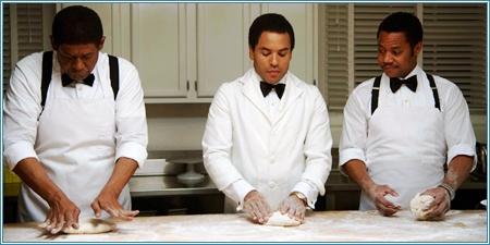 Forest Whitaker, Lenny Kravitz y Cuba Gooding Jr.