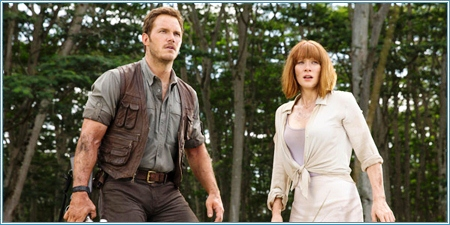 Chris Pratt y Bryce Dallas Howard