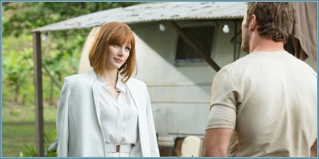 Bryce Dallas Howard y Chris Pratt