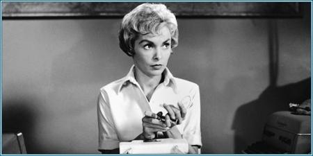 Janet Leigh es Marion Crane