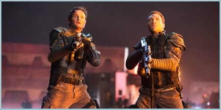 Jason Clarke y Jai Courtney