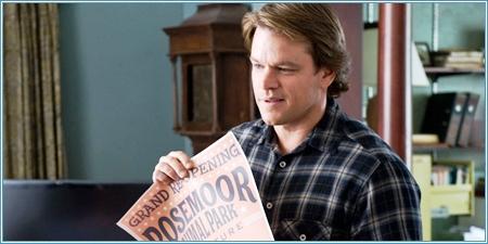 Matt Damon es Benjamin Mee