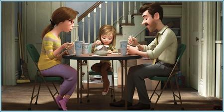 Riley y sus padres