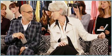 Stanley Tucci y Meryl Streep