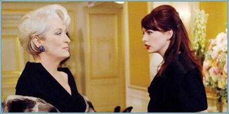 Meryl Streep y Anne Hathaway