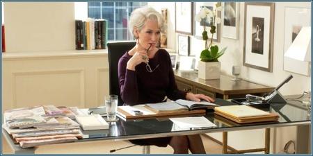 Meryl Streep es Miranda Priestly