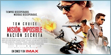 Misión: Imposible - Nación secreta (Mission: Impossible - Rogue nation)