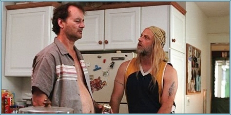 Bill Murray y Chris Elliott