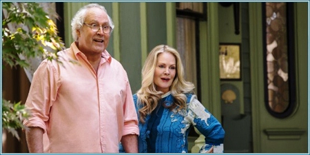 Chevy Chase y Beverly D'Angelo