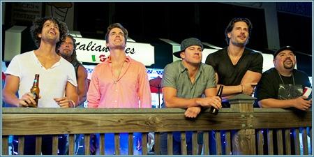 Adam Rodriguez, Kevin Nash, Matt Bomer, Channing Tatum, Joe Manganiello y Gabriel Iglesias