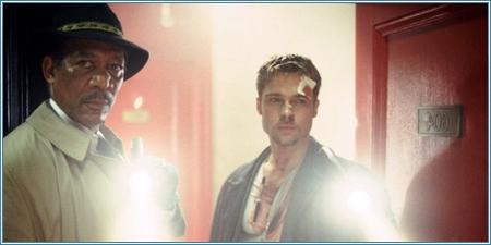 Morgan Freeman y Brad Pitt