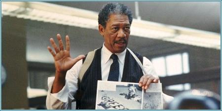 Morgan Freeman es el teniente Somerset