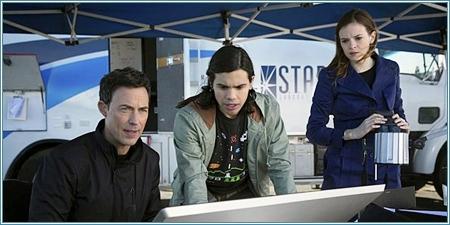 El doctor Wells, Cisco y Caitlin