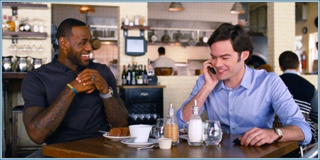 LeBron James y Bill Hader