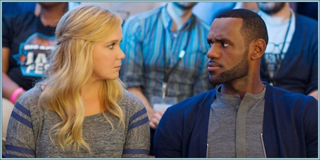Amy Schumer y LeBron James