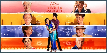 El nuevo exótico Hotel Marigold (The second best exotic Marigold Hotel)