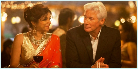 Lillete Dubey y Richard Gere