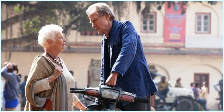 Judi Dench y Bill Nighy