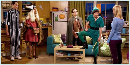 Sheldon, Raj, Leonard, Howard y Penny