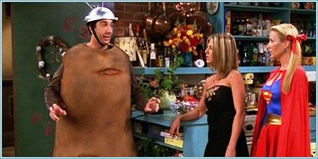 Ross, Rachel y Phoebe