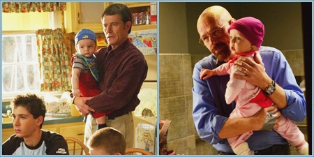 """Malcolm in the middle"" y ""Breaking bad"""