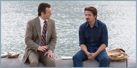 Michael Sheen y Jeremy Renner