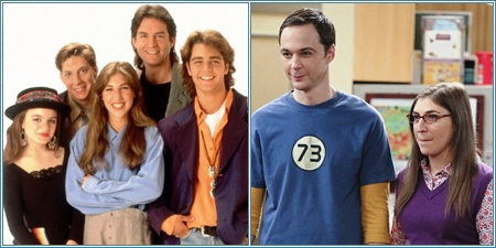 """Blossom"" y ""The Big Bang theory"""