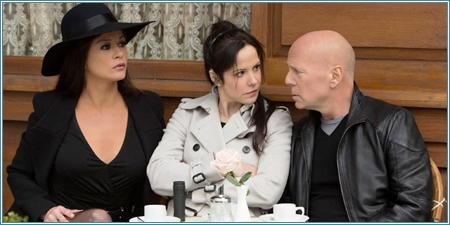 Catherine Zeta-Jones, Mary-Louise Parker y Bruce Willis