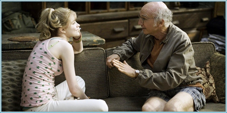 Evan Rachel Wood y Larry David
