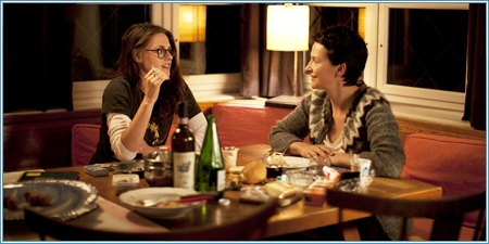 Kristen Stewart y Juliette Binoche
