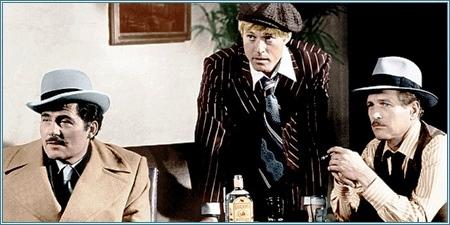 Robert Shaw, Robert Redford y Paul Newman