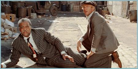 Robert Earl Jones y Robert Redford