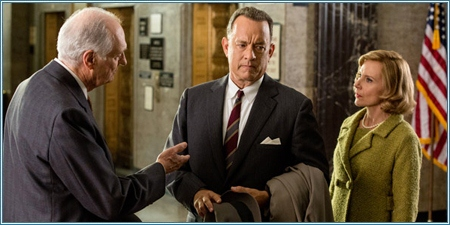 Alan Alda, Tom Hanks y Amy Ryan