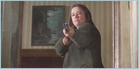 Kathy Bates es Annie Wilkes