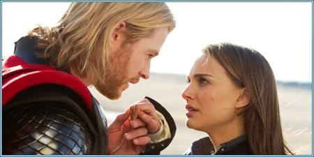 Chris Hemsworth y Natalie Portman
