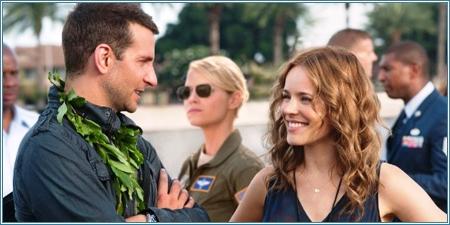 Bradley Cooper, Emma Stone y Rachel McAdams