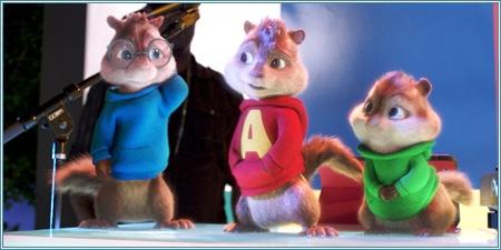 Simon, Alvin y Theodore