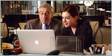 Robert De Niro y Anne Hathaway