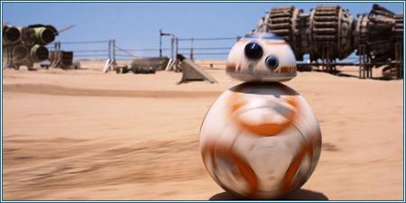 El carismático droide BB-8