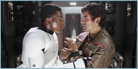 John Boyega y Oscar Isaac