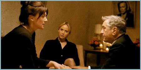 Elisabeth Röhm, Jennifer Lawrence y Robert De Niro