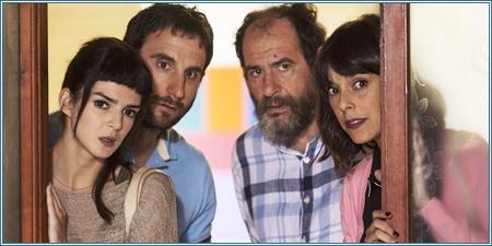 Clara Lago, Dani Rovira, Karra Elejalde y Belén Cuesta