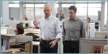 Michael Keaton y Mark Ruffalo
