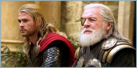 Chris Hemsworth y Anthony Hopkins