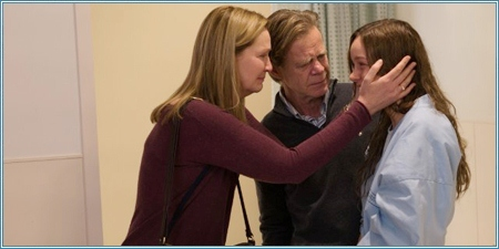 Joan Allen, William H. Macy y Brie Larson