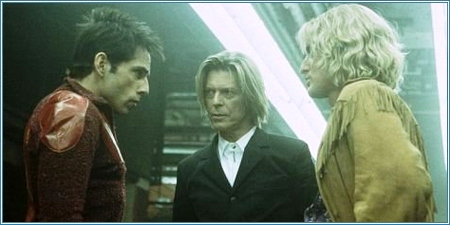 Ben Stiller, David Bowie y Owen Wilson