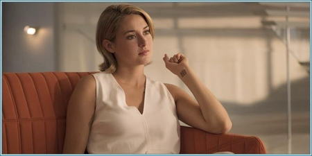 Shailene Woodley es Tris