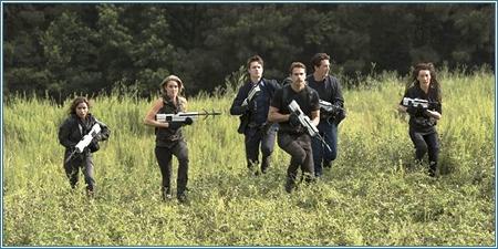 Christina, Tris, Caleb, Cuatro, Peter y Tori