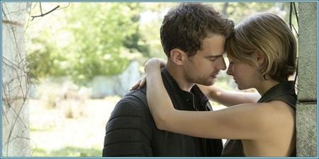 Theo James y Shailene Woodley