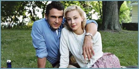 James Franco y Sarah Gadon